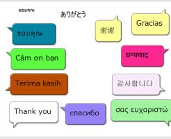 多言語の対応